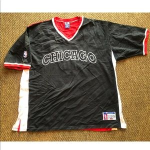 Vintage Champion Chicago Bulls 90's Warm Up Jersey